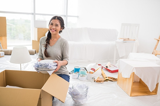 Packing house items - Faulkner Removals Brisbane