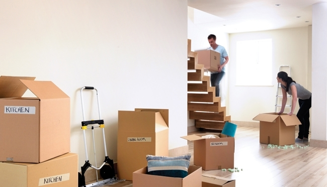 Packing for moving house - Faulkner Removals